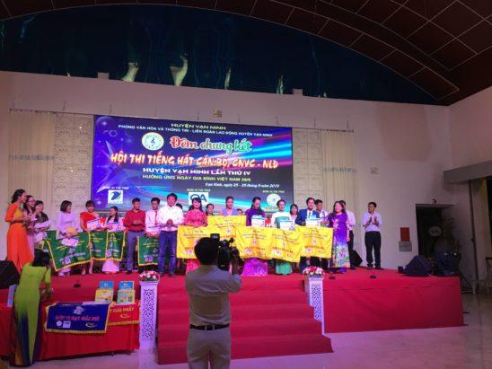 Hội thi tiếng hát cán bộ – CNVC -NLĐ huyện Vạn Ninh 2019