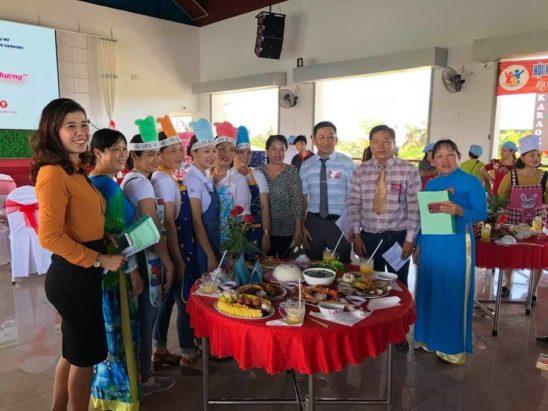 Hội thi Bữa cơm gia đình ấp áp yêu thương tại nhà hàng Quỳnh Anh