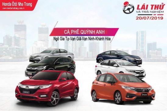 Sự kiện Lái thử xe Honda Brio tại Quỳnh Anh Cà Phê lần 1/2019